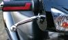 Sisilisko Sähköskootterit - Cemoto Sprinter (musta, etujarru, kaasukahva, vilkkuvalo)