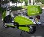 Sisilisko Sähköskootterit - Sisilisko Retro (vihreävalkoinen)