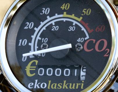 Ekolaskurilla voit vertailla sähkö- ja bensaskootterin kuluja ja päästöjä!